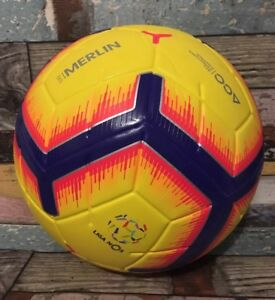 60e6ec3c3 NIKE LIGA NOS MERLIN OFFICIAL MATCH FOOTBALL 2018-19 ACC SIZE 5 BALL ...