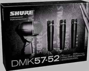 Like-N-E-W-Shure-DMK57-52-Drum-Mic-Kit-Authorised-Dealer-Open-Box-Never-Used