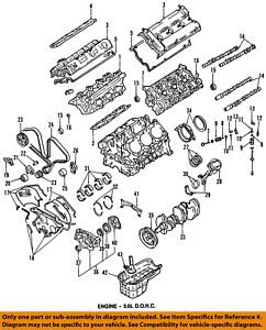 mitsubishi oem 91 99 3000gt engine oil pump gasket md189778 ebay rh ebay com 1991 Toyota Corolla Engine 1991 Mitsubishi 3000GT VR4 Transmission