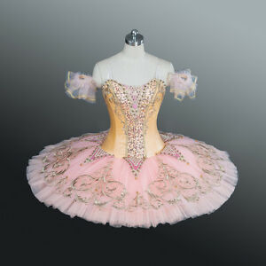 45cc1d050 Professional Pink & Peach Sugar Plum Dew Drop Sleeping Beauty Ballet ...