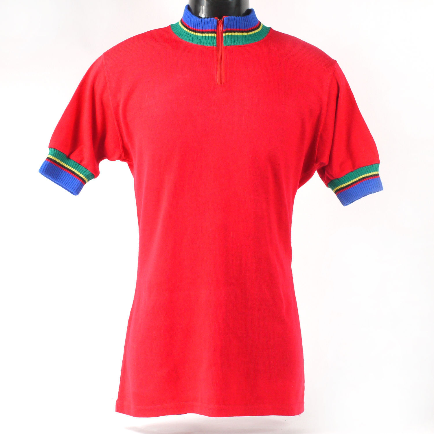 VIntage cycling jersey in red