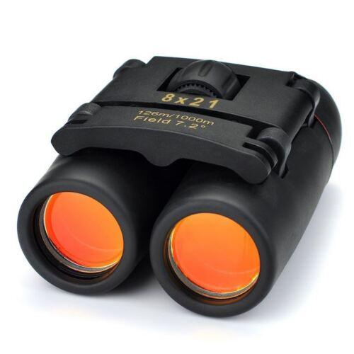 Prismático Viaje Prismáticos Plegable 30x Aumentos Nitidez Ligero Portable Caza