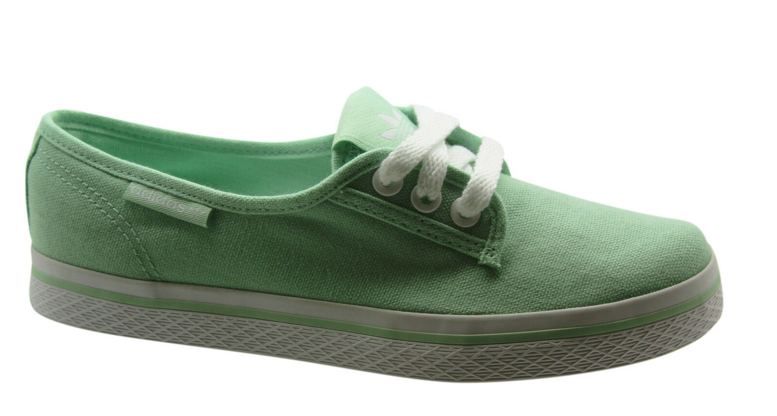 Adidas Originals Honey Plimsole Womens Trainers shoes Lace Green M19583 U104