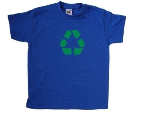Recycling Symbol Kids T-Shirt