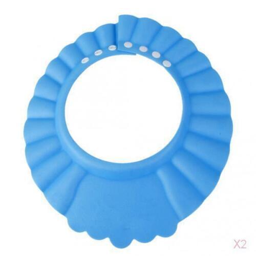Baby-Kind-Shampoo-Bad-Dusche Weichen Hut Haare Waschen Wasserdichte Mütze