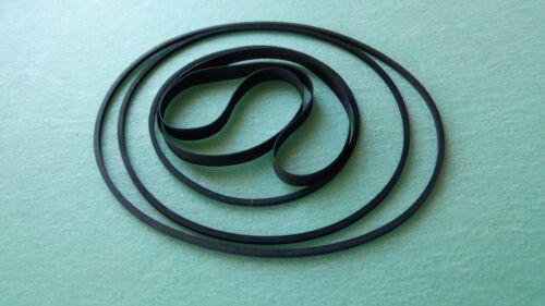 Riemen-Set für SANYO RD-2503 RD-5015 Kassettendeck Cassette Tape Deck Belt-Kit