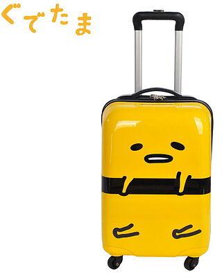 "Japan Sanrio Gudetama Egg ぐでたま 18"" Travel Luggage Hard Shell Suitcase Case"