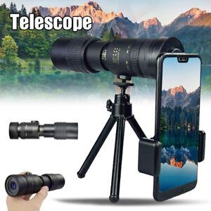 4k Hd Monokular 10 300x40mm Fernglas Fokus Zoom Outdoor Fernrohr Teleskop Ebay