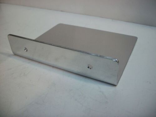 "CodyCo ALUMINUM SHELF MOUNT BATHROOM MINIMALIST PHONE SHELF SMALL 12/"" X 5/"""