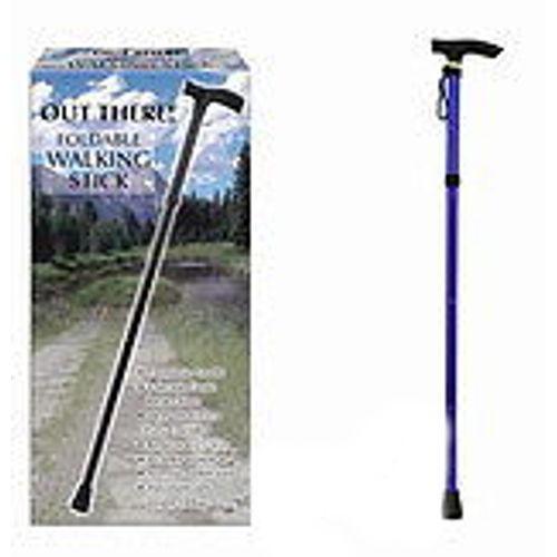 Marche Bâton ~ 4 Section Pliable marche bâton ~ ~ ~ 27cm vers 93cm f8290e