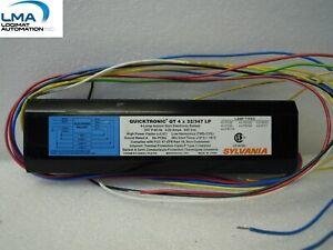 SYLVANIA-QT4X32-347LP-INSTANT-START-BALAST-4-LAMP-347V-60Hz-0-29AMP-NEW
