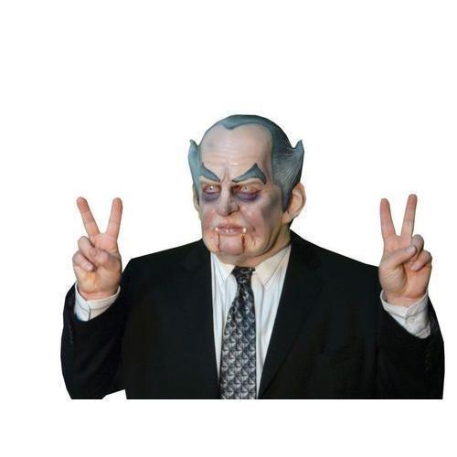 Richard Nixon Costume: Vampire Count President Nixon Political Full Latex Mask