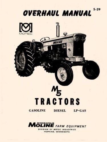Heavy Equipment, Parts & Attachments Minneapolis Moline M5 Tractor ...