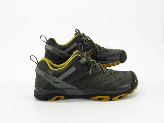 3fe41293212 KEEN Marshall WP Waterproof Hiking Trail Walking Shoes 1009616 Mens Size 8