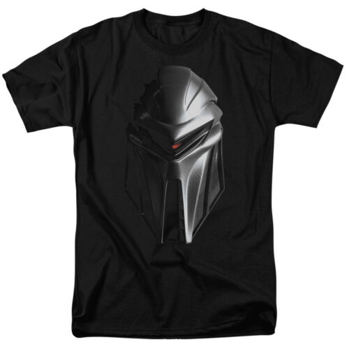 Battlestar Galactica New Series CYLON HEAD Licensed Adult T-Shirt All Sizes