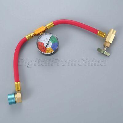 """5PC R-1234yf Can Tap Kit 1//2/"""" ACME LH Female  1//4/"""" SAE  Fit a R134a Hose"""
