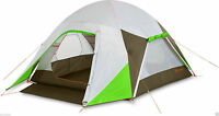 NWT Eddie Bauer First Ascent Olympic Dome 4 Person Tent Green Retail $299