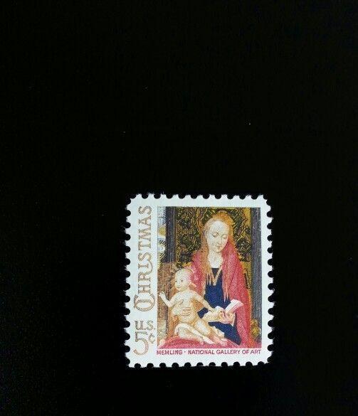 1966 5c Christmas Madonna & Child, Hemming Scott 1321 M