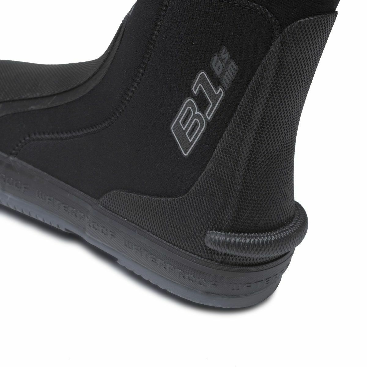 B1 6.5mm Neoprene Dive Boots by Waterproof, XXSmall (3-4)