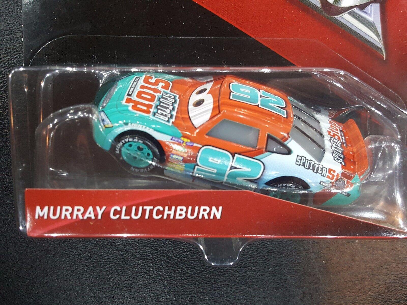 Disney Pixar Cars MINI RACER MURRAY CLUTCHBURN SPUTTER STOP MATTEL Diecast