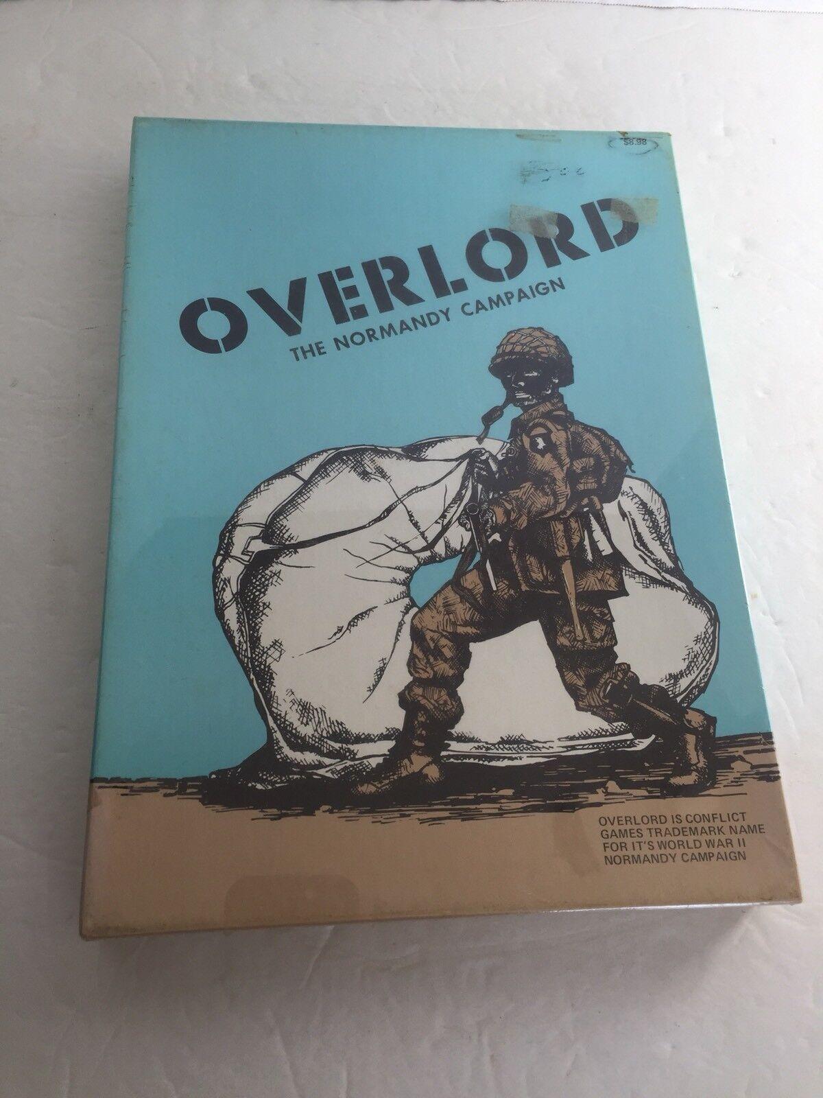 Vintage Sealed  Mint 1973 Overlord The Noruomody Campaign Realistic War gioco  alta qualità genuina