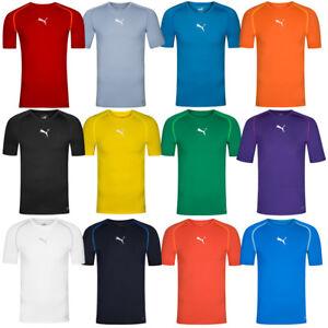 ec6fbdc7643d5f Das Bild wird geladen PUMA -TB-Herren-Kompressions-Shirt-Funktionsshirt-Fitness-Fitnessshirt-