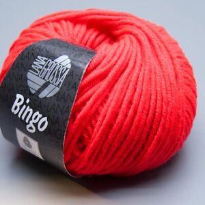 Lana-Grossa-Bingo-707-neon-rot-50g-9-90-EUR-pro-100-g