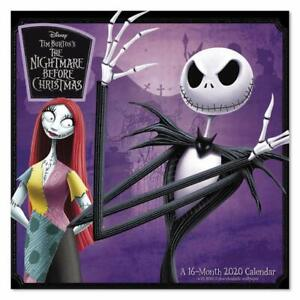 The Nightmare Before Christmas - 2020 Wall Calendar NIGHTMARE BEFORE CHRISTMAS   2020 WALL CALENDAR   BRAND NEW