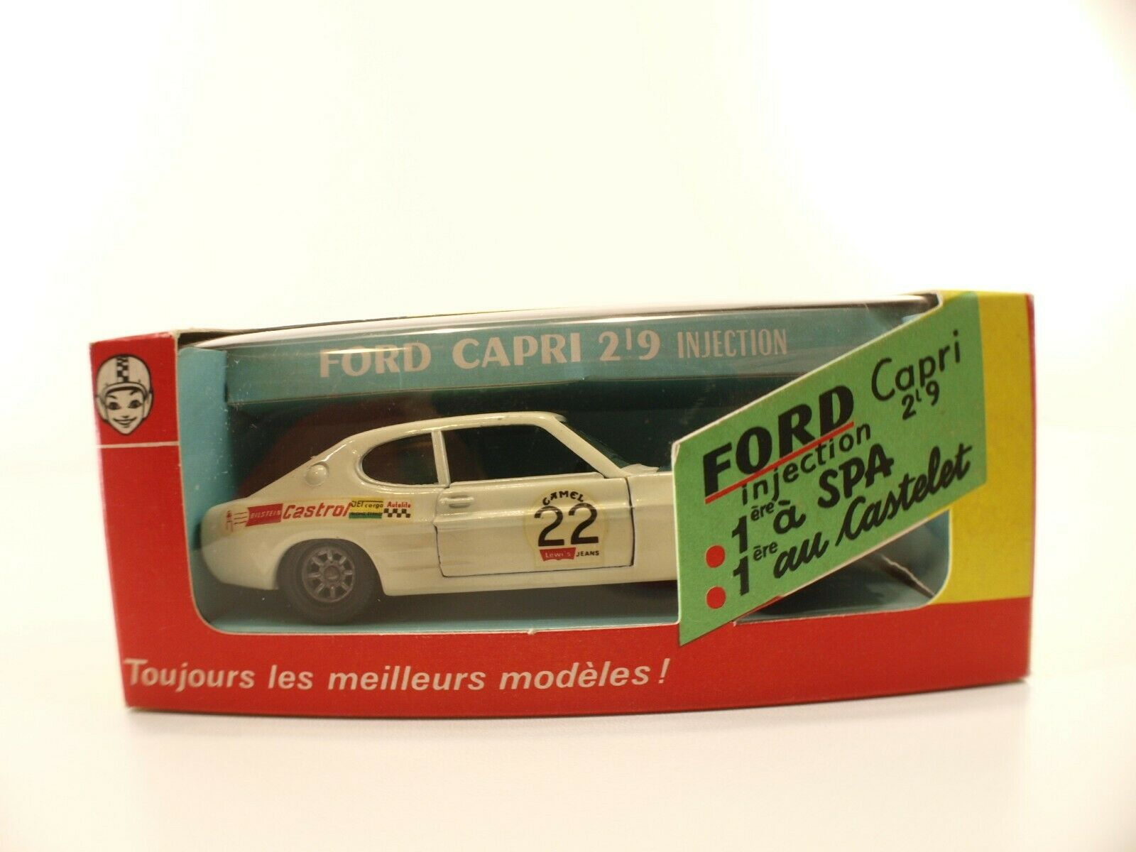 Solido - N FRAMTIDE 65533;, 65533; 190 Ford Capri 2L9 Inspection Castlet 1 43 - New in Box