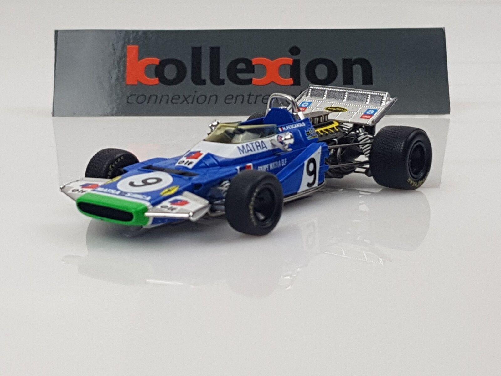 SPARK S1601 MATRA MS120 n°9 3rd Monaco GP 1970 H. Pescarolo 1.43