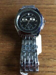Mens-ORLANDO-SS-Watch-amp-Band-W598