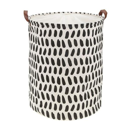 Simple Foldable Large Storage Laundry Hamper Clothes Basket Laundry Washing Bag