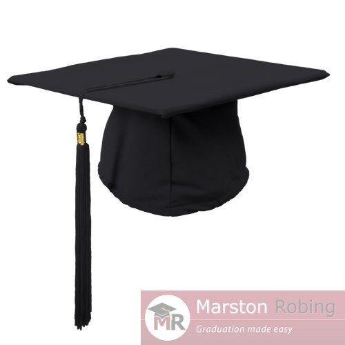 University Academic Graduation Gown and Hat BA Bachelor-UK Best Seller Virtual