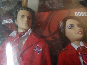 2008 Mattel rebelde doll set Diego Roberta - barbie ken figure