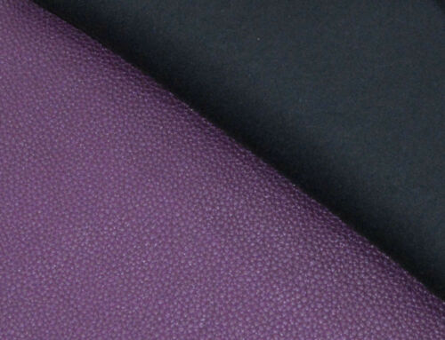 pb311g Purple Soft Faux Leather Skin Bolster Cushion Cover Yoga Neck Roll Case