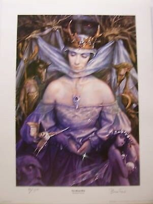 Wild Wood Signed and Numbered Print Brian Froud
