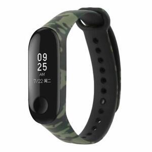 Camouflage Soft Strap For Xiaomi Mi Band 4 Smart Watch Green Black Ebay