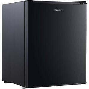 Mini Small Fridge Compact Refrigerator Kitchen Black