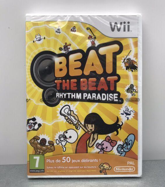Beat the Beat Rythm Paradise *Nintendo WII Game PAL FR* Scelle Neuf New