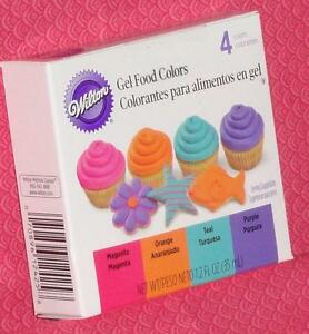 Neon Edible Food Coloring,Icing Color,Wilton,601-2425,4 Pack,Multi ...