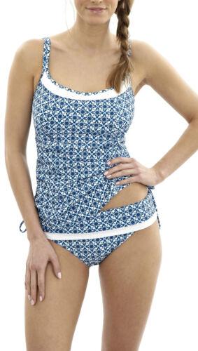 Panache SW0971 Swimwear Rocha Tankini Top Mosaic Print