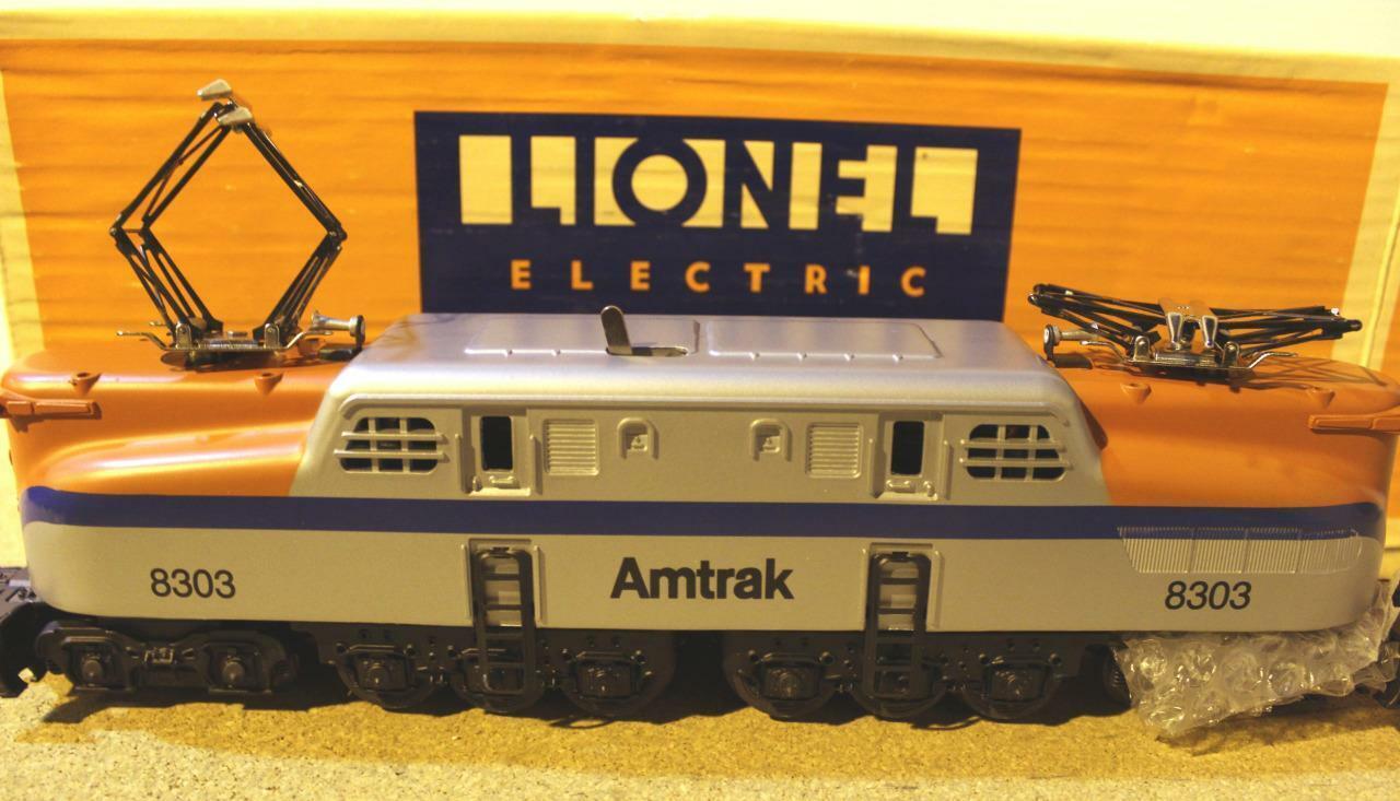 El Lionel Vault - 18303 Amtrak Diecast GG-1 con dos motores pullmor-perfecto Estado -