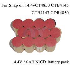 For Snap-on 18V CTB4185 | CTB4187 Battery DIY Repack KIT 2 0