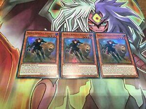 Noble Knight Iyvanne X3 SOFU-EN088 Super Rare 1st NM Yugioh