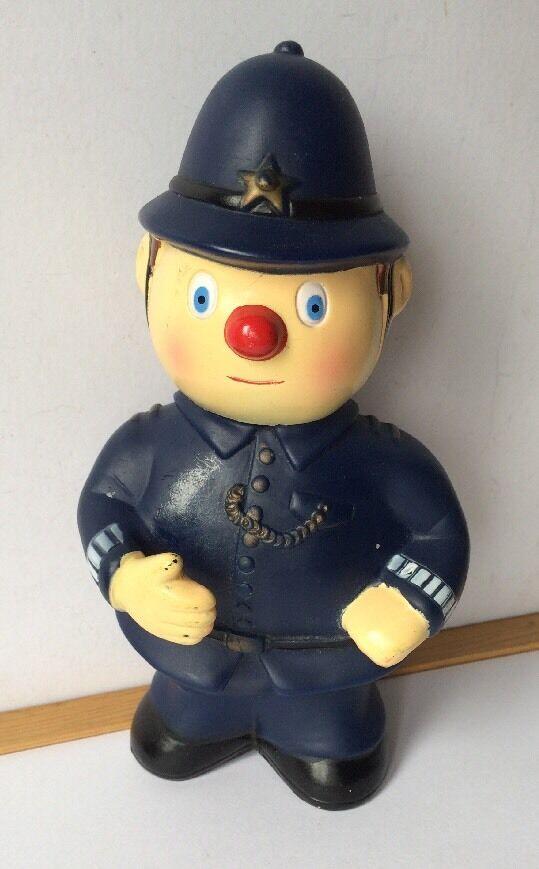 BBC Noddy Collectable Enid Blyton Mr PC Plod Bath Toy Rare 1992 VGC Vintage