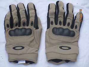 Oakley-SI-Assault-Gloves-Pilot-Factory-Pittards-leather-size-XXL-XL