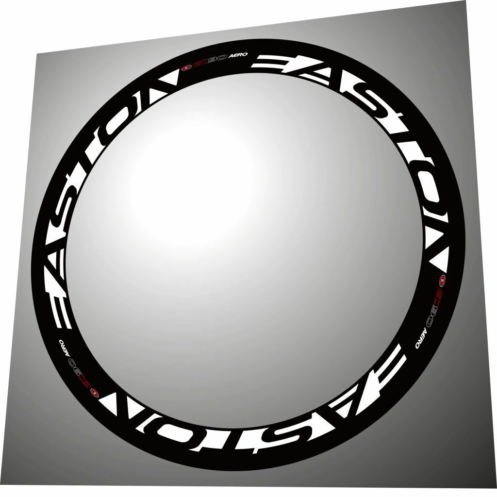 EASTON EC90 AERO 2011 WHITE REPLACEMENT RIM  DECALS  FOR 2 RIMS  up to 50% off