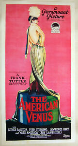 Large-Format-Hi-Quality-Facsimile-of-1926-Movie-Poster-American-Venus-35-25-x-18
