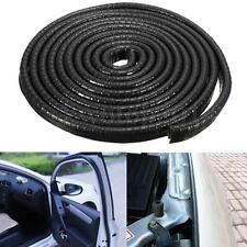 "120"" 3 M All Weather Rubber Seal Strip Car Door Edge Guard Mold Trim Metel Clips"