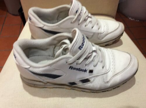 Leather 5 Reebook Trainer 5 Classic White Taille RwnUTOnW